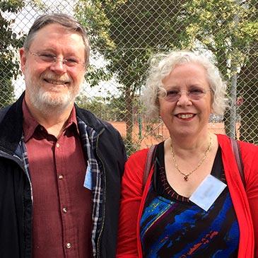 Alan and Lynne